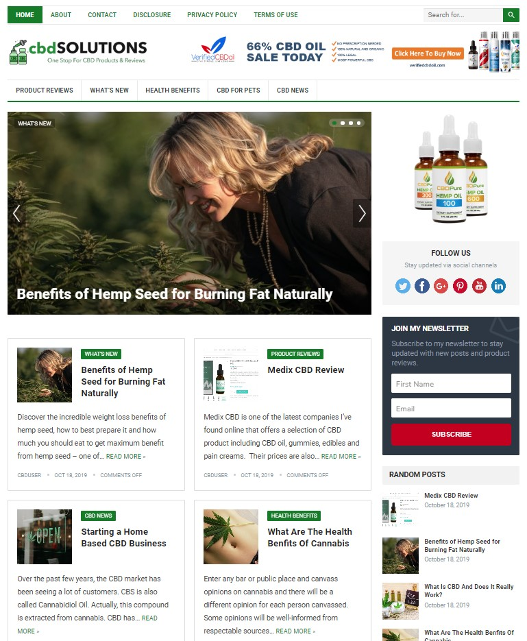cbd wp theme