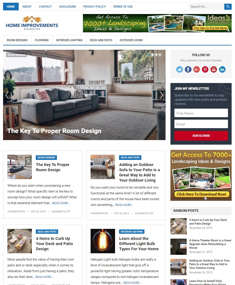home improvement wp theme